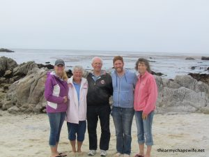 Family in Monterey