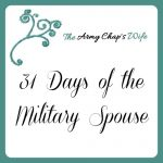 31 Days of the Military Spouse